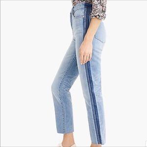 J. Crew Point Sur Shoreditch Straight Jeans NWT